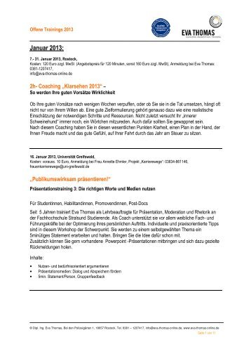 Inhaltsbeschreibung/ Anmeldung - Eva Thomas - Coaching ...