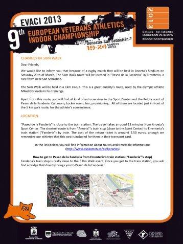 Newsletter 9. EVACI 2013