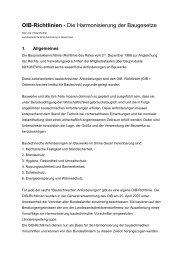 OIB-Richtlinie Brandschutz - EVAL.at