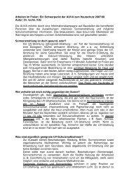 Arbeiten im Freien: Ein Schwerpunkt der AUVA zum ... - EVAL.at