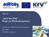 Risikokompetenz - EVAL.at