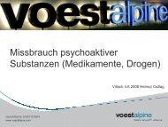 Missbrauch psychoaktiver Substanzen (Medikamente ... - EVAL.at