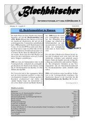 Klausurtagung für Vereinsvorstände vom 19. – 21. Februar 2010 in