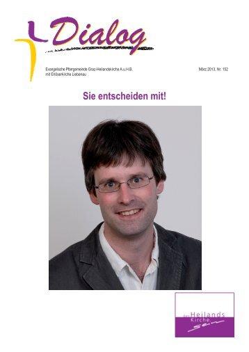 Wahldialog.indd (1).pdf - Evangelische Pfarrgemeinde Graz ...