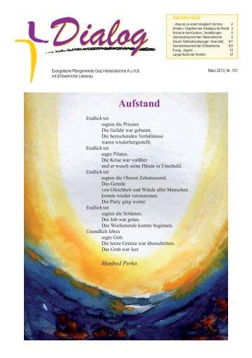 Dialog_März 2013.pdf - Evangelische Pfarrgemeinde Graz ...