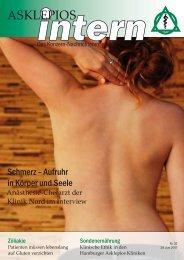 Das Konzern-Nachrichtenmagazin - Asklepios