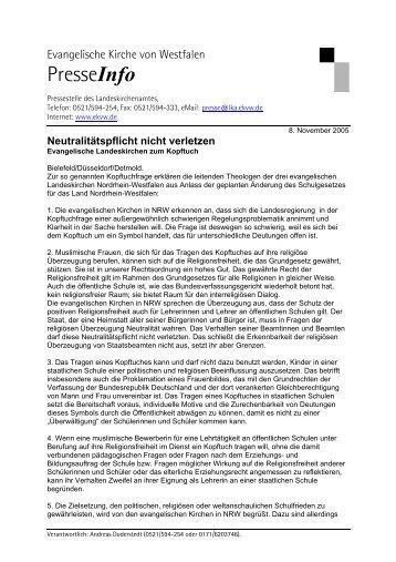 Download - Evangelische Kirche von Westfalen