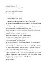 Vortrag von Annette Kurschus - Evangelische Kirche von Westfalen