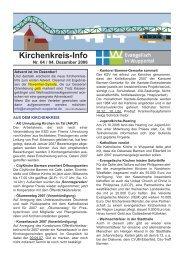 Kirchenkreis-Info - Evangelisch in Wuppertal