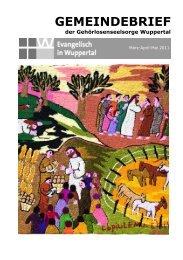 3-5-2011 Gemeindebrief.pdf - Evangelisch in Wuppertal