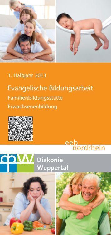 Programm 1. Hj. 2013 - Diakonie Wuppertal