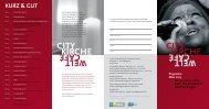 Das aktuelle Programm der CityKirche im Download