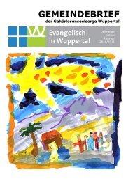 GEMEINDEBRIEF - Evangelisch in Wuppertal