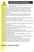 Manual de instruções - Page 5