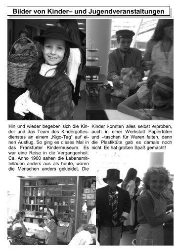 Herbst 2009 - Teil 2 - Evangelische Auferstehungsgemeinde Kriftel