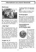Herbst 2009 - Teil 2 - Evangelische Auferstehungsgemeinde Kriftel - Seite 7