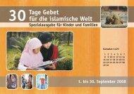 30 Tage Gebet 2008 - Österreichische Evangelische Allianz
