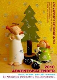ADVENTSKALENDER 2010 - Evangelische Jugend EKM