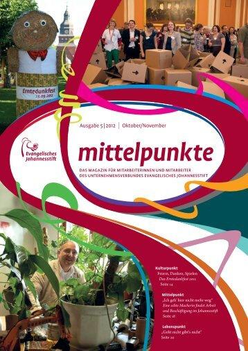 Ausgabe Okt-Nov 2012 - Evangelisches Johannesstift