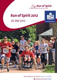 Evangelisches Johannesstift: Run of Spirit 2012 in Leichter Sprache