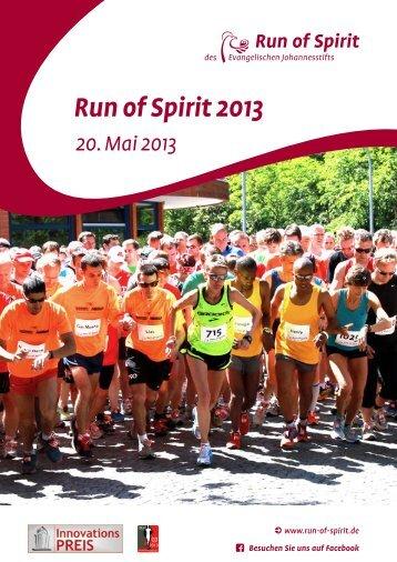 Run of Spirit-Broschüre - Evangelisches Johannesstift
