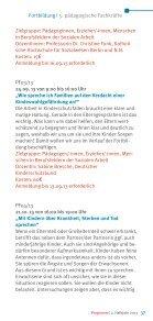 Fortbildungen für pädagogische Fachkräfte - Evangelisches ... - Seite 3