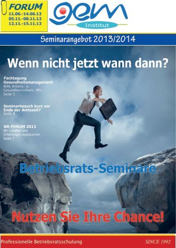 Seminarangebot 2013/2014