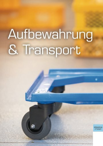 Aufbewahrung & Transport