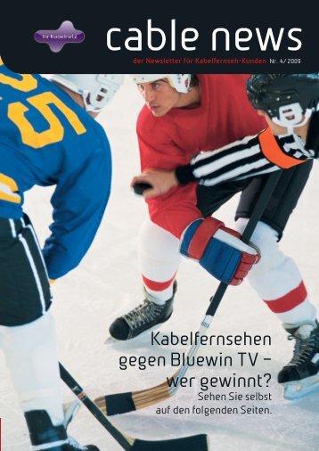 Kabelfernsehen gegen Bluewin TV – wer gewinnt? - GA Weissenstein