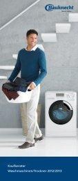 Kaufberater Waschmaschinen/Trockner 2012/2013 - EVC GmbH