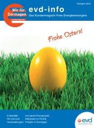 Ausgabe 1/12 - EVD Energieversorgung Dormagen GmbH