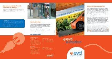 E-Mobilität - EVD Energieversorgung Dormagen GmbH