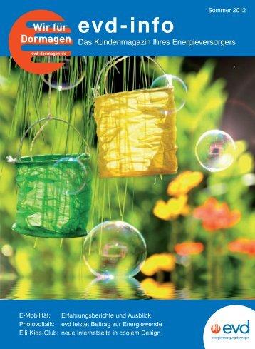 Ausgabe 2/12 - EVD Energieversorgung Dormagen GmbH