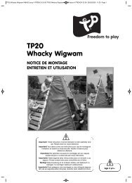 TP20 Whacky Wigwam IN8430 Issue A FRENCH 03 ... - Eveil et jeux