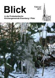 Februar 2011 - Protestantische Kirchengemeinde Eisenberg/Pfalz