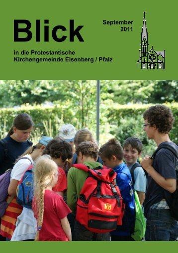 September 2011 - Protestantische Kirchengemeinde Eisenberg/Pfalz