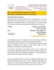 Sat Nam Rasayan AG Rhein Main - event verteiler .de