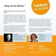 Talk&Info - event verteiler .de