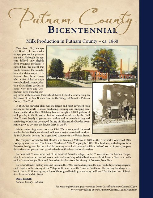 Putnam County - Eventful Magazine
