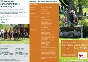 Sponsorenmappe 2012 - Eventing Marbach