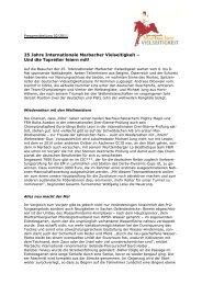 25 Jahre Internationale Marbacher Vielseitigkeit ... - Eventing Marbach