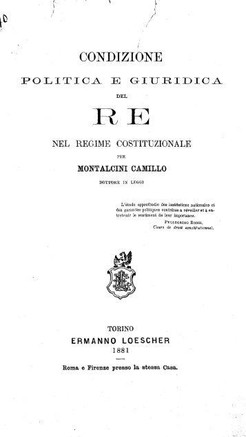 CONDIZIONE - Camera dei Deputati