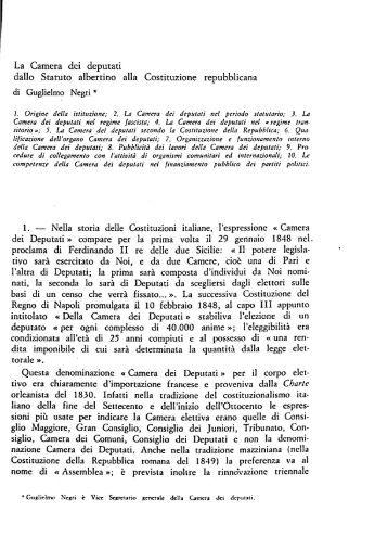 Art 47 l 39 articolo 36 gi for La durata in carica dei deputati