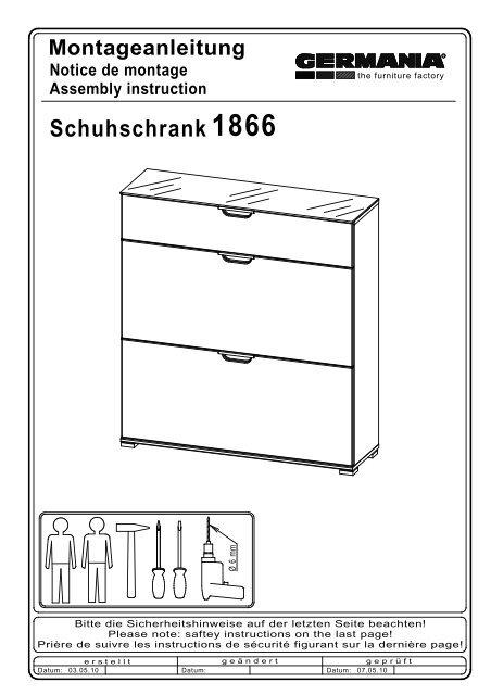 Schuhschrank 1866