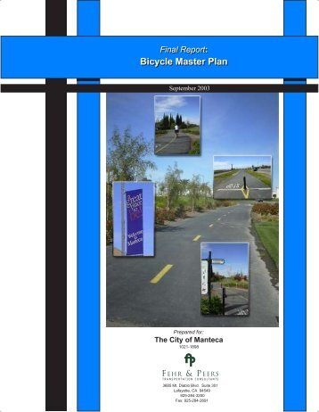 Bicycle Master Plan - City of Manteca