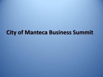 Enterprise Zone Presentation March 19, 2013 - City of Manteca