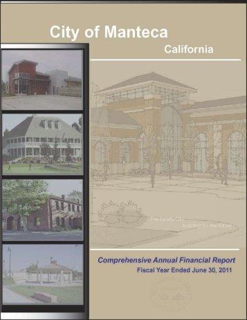 Comprehensive Annual Financial Report 10-11 - City of Manteca