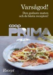 Coop Prima receptbroschyr