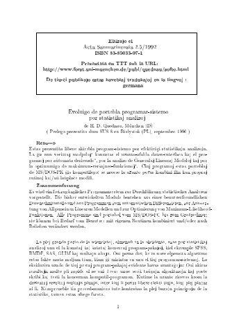 Acta Sanmarinensia 2.5/1992 Evoluigo de portebla programar ...