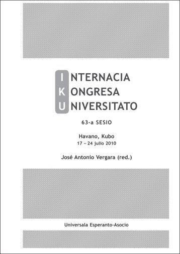 IKU-libro 2010 - Universala Esperanto-Asocio
